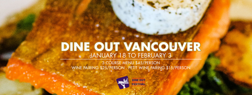 Dine Out Vancouver 2019
